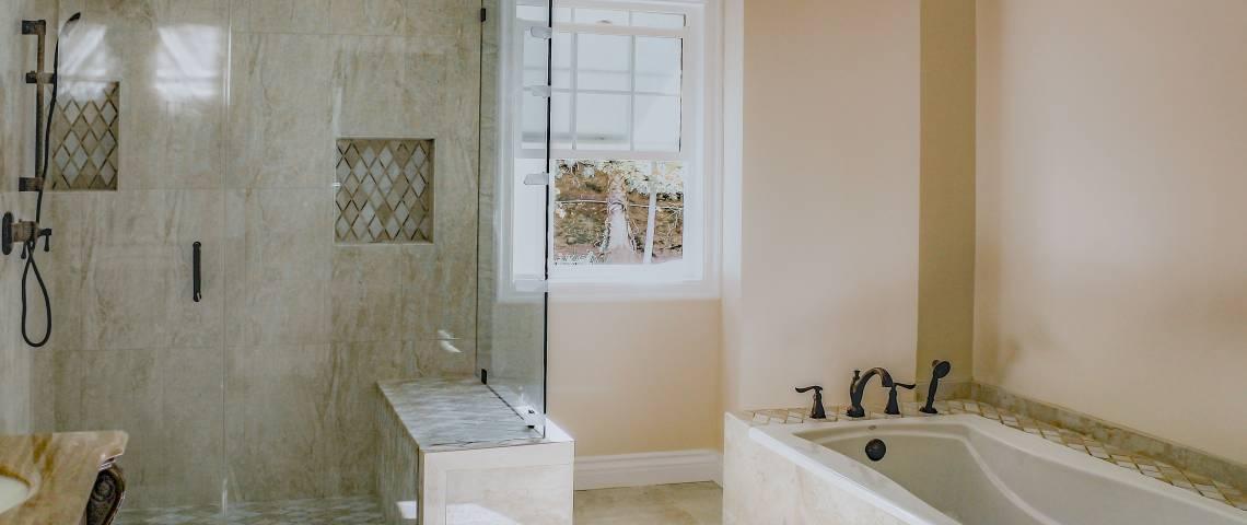 Bathroom Upgrade In Encino CID Builders Developers INC Simple Bathroom Upgrade